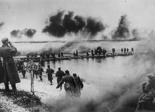 Форсирование Днепра 22 сентября 1943 года