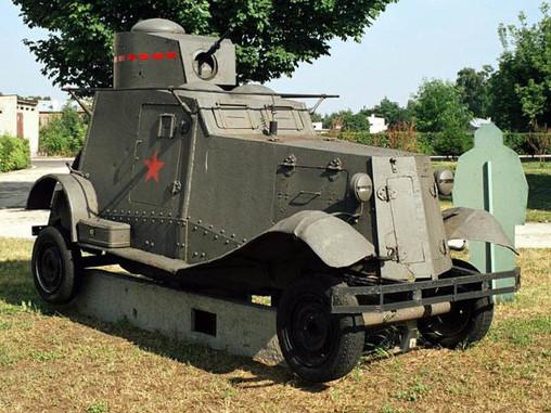 Судьба бронеавтомобиля ФАИ в Польше