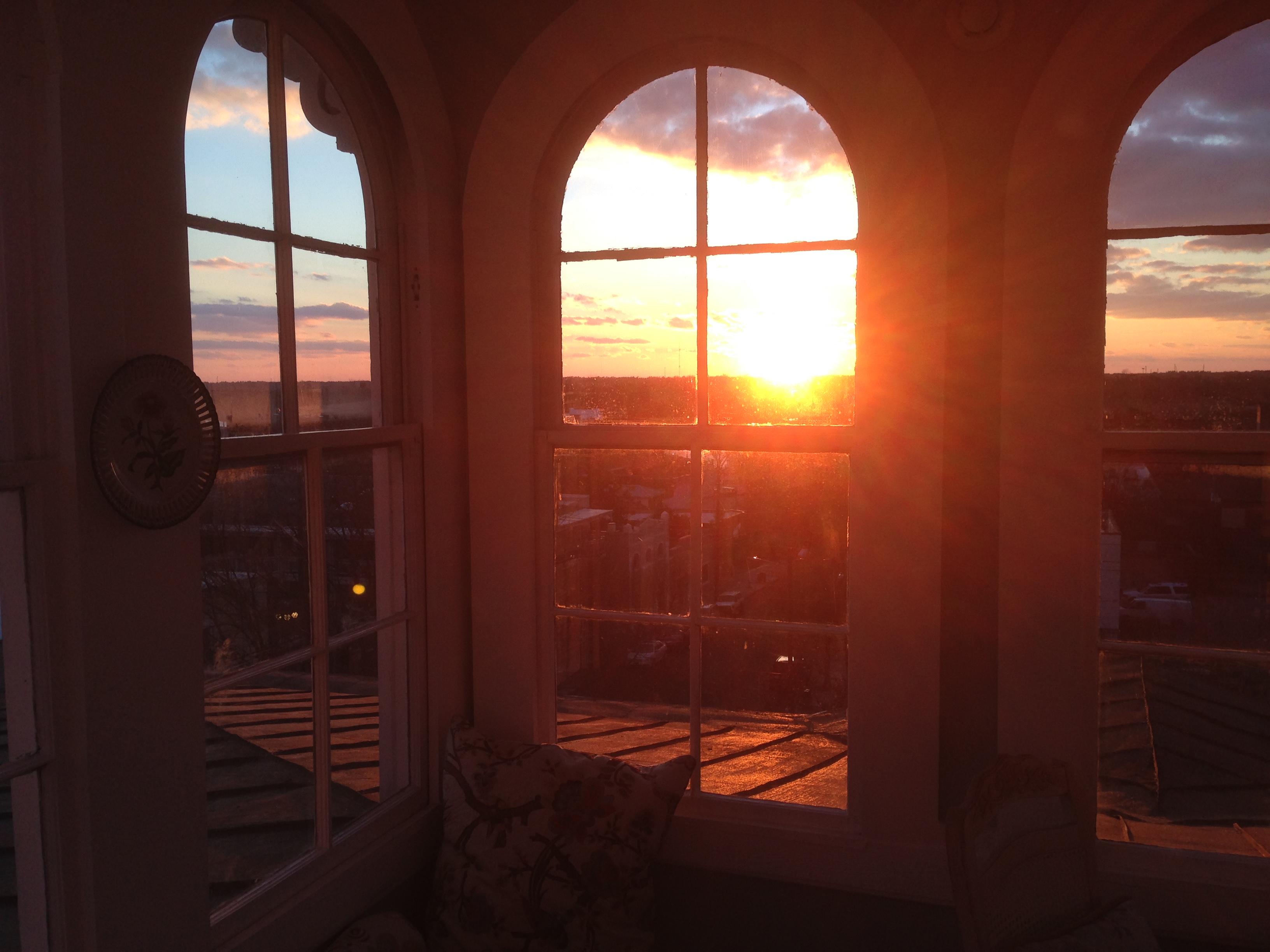 Cupola Sunset