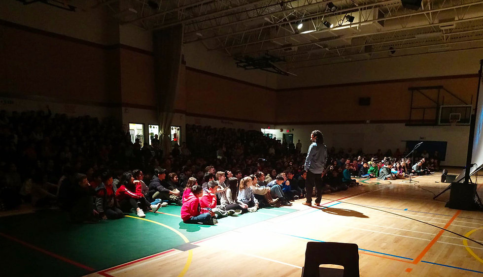 Interactive Indigenous Storytelling Performance in Schools: How Raven Stole the Sun