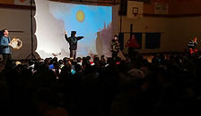 Interactive Indigenous Storytelling Performance: How Raven Stole the Sun