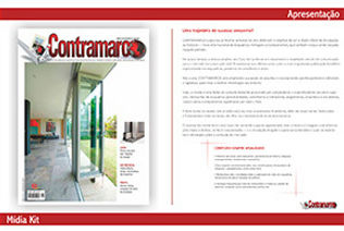Mídia Kit Revista Contramarco