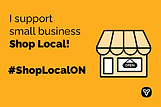 I Support Small Business_4x6 Yellow ENG.