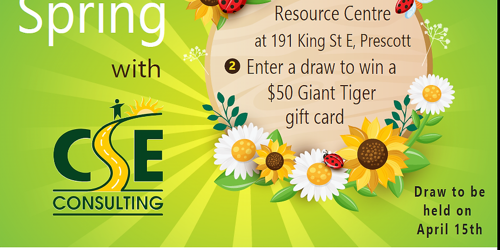 Celebrate Spring with CSE Consulting & Giant Tiger!