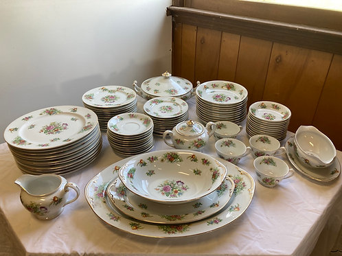 Vintage Aichi China Occupied Japan Floral Pattern