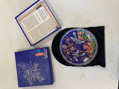 The Ching-t'ai-lan Artist Workshop decorative plates (Set of 8)