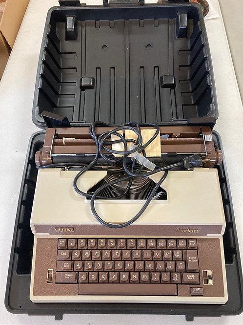 Royal Academy Typewriter