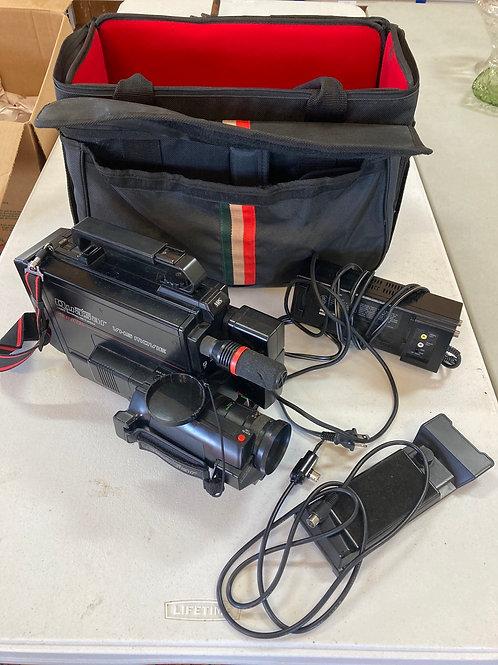 Quasar VHS Movie  Camera Recording and Playback