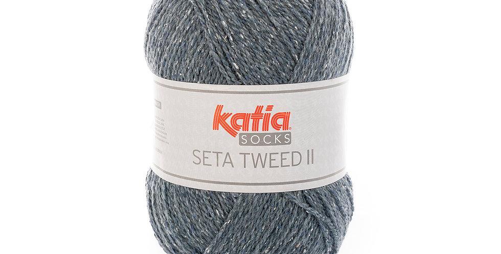 Seta Tweed II colour 85 jeansblå