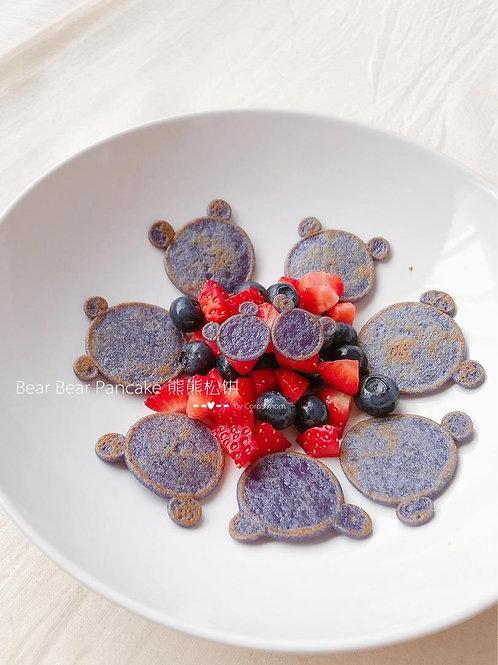 Premixed Veggie Pancake Powder -Purple Carrot