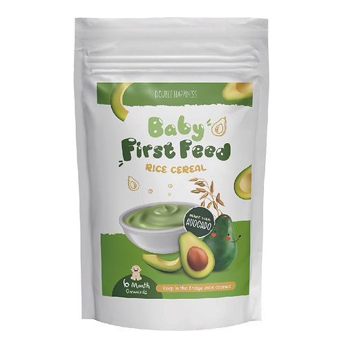 Baby First Feed Avocado Rice Instant Cereal