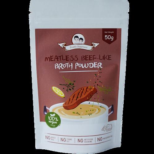 Meatless Beef-Like Broth Powder (100% Vegan)