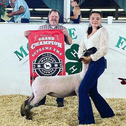 Reserve Grand Ewe Monroe County Fair - Makenah Brooks.jpg