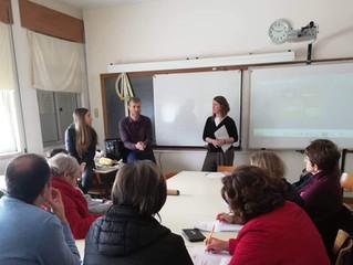 A Par e Passo dinamiza primeiro workshop na EB 2,3 da Arrifana