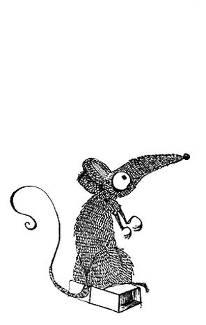 fosca mouse drawing art engravins dot