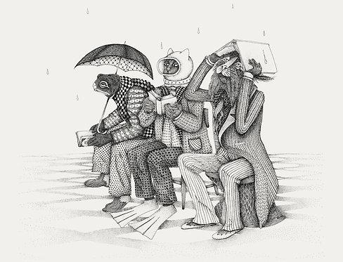 Immersed in literature