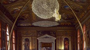 Literary globe  Fosca's Exhibition at Museo Correr