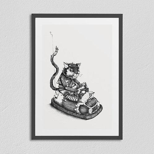 DOT DODGEM CAT CAR