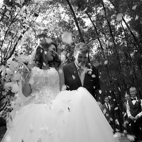 WEDDING IN B&W - JACO & ISOLDE