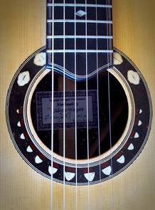 weigert guitar rosette