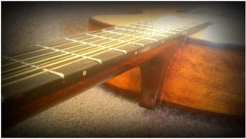 'Leadbelly' 12 string guitar by G Weigert