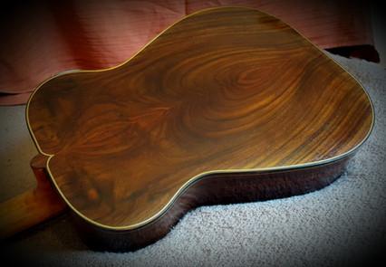 rosewood guitar back heart