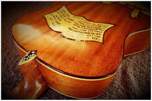 'Jerusalem' Guitar - 2017
