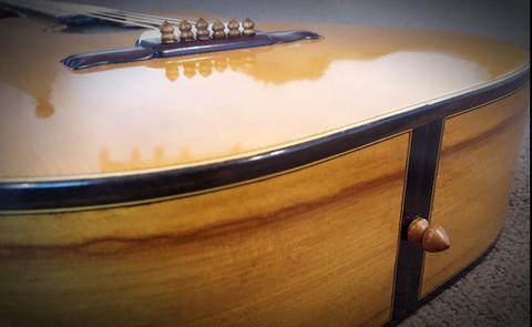 Bob Dylan tribute guitar by G Weigert