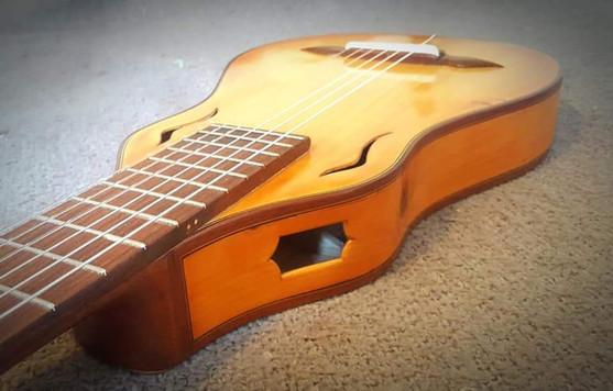 G Weigert Travel Guitar