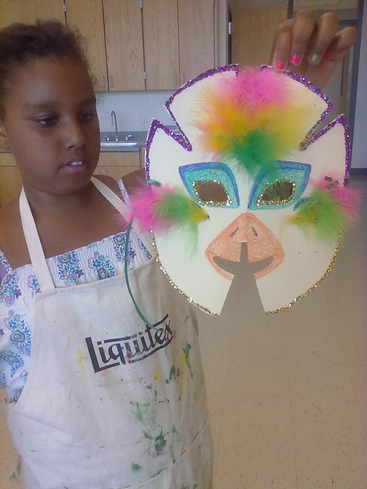 Art Class in Summer Program