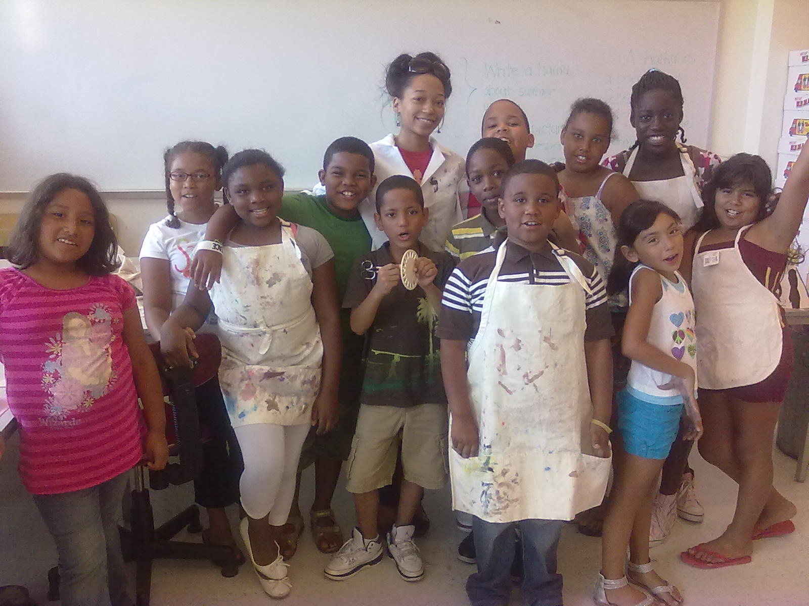 Art Class in Summer Program @ NRC