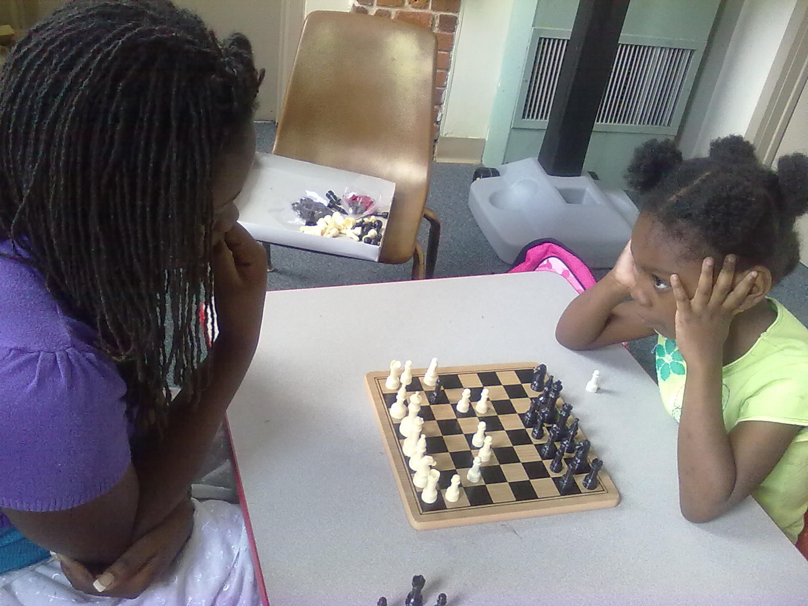 Chess Lessons in Summer Program