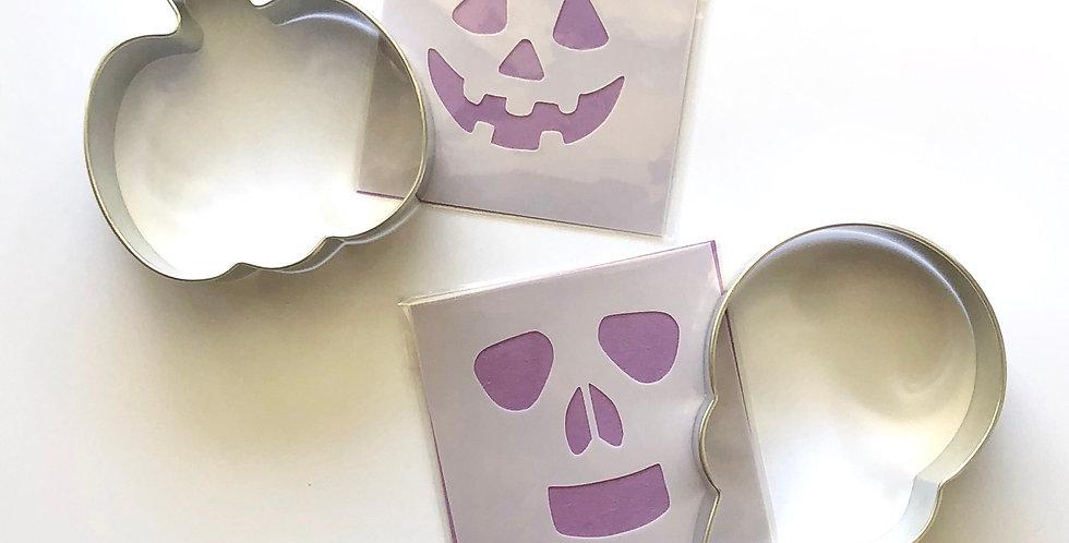 Halloween Cutter & Stencil Set