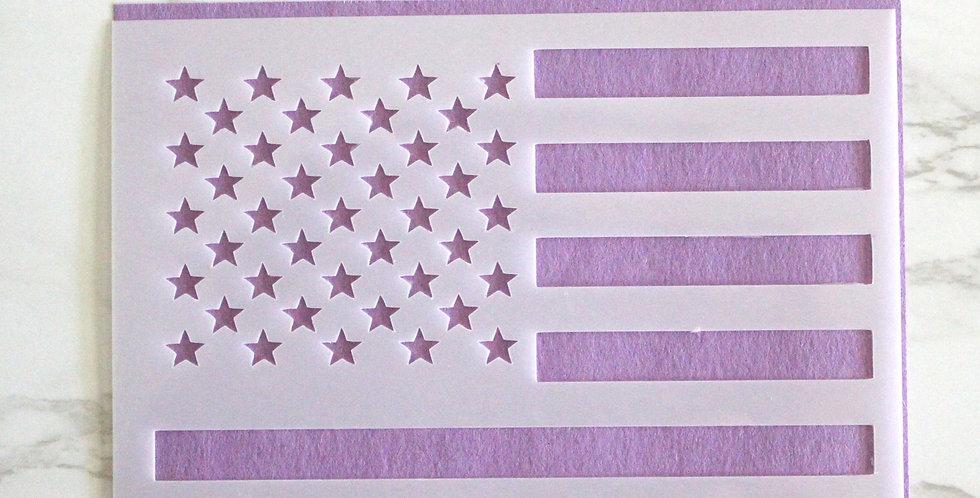 Stars & Stripes Stencil