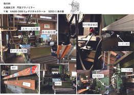 丸福鉄工 門型プラノミラー取付例