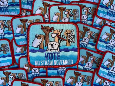 Happy End of No Straw November 2020!