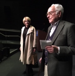 Kathryn Roszak with Director and Producer James Ivory