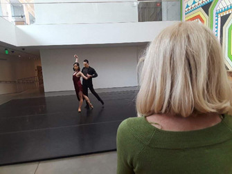 Women Ballet Choreographers at Berkeley Art Museum/Pacific Film Archive in production!