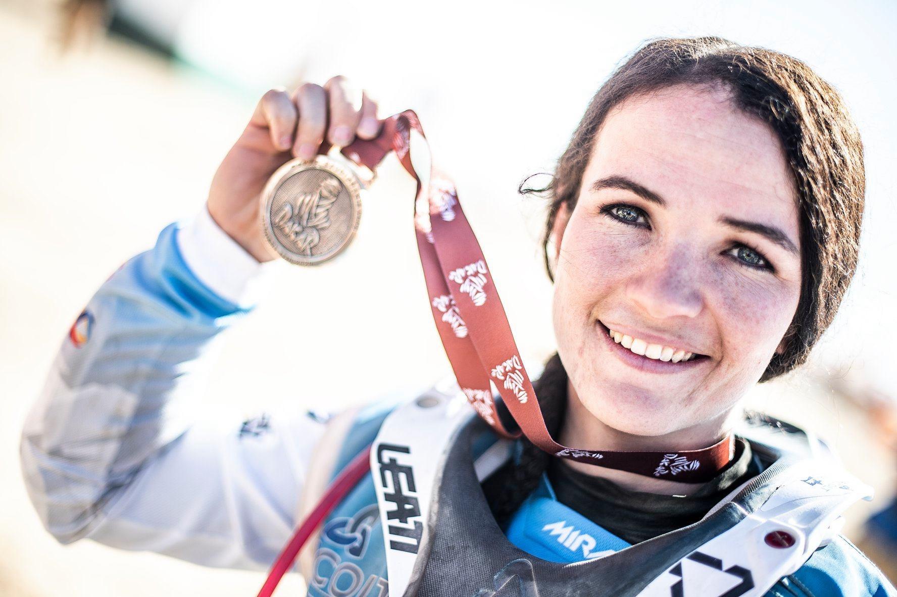 Dakar Medal Taye Perry