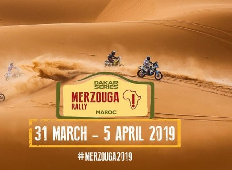 TP to Qualify for Dakar - Merzouga Rally March 31st - April 5th 2019