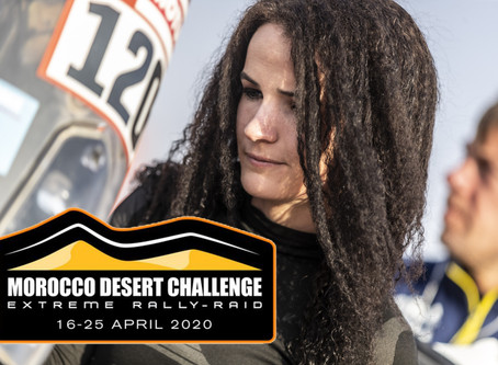 Taye Perry to take on Morocco Desert Challenge as preparations for Dakar 2021 get serious