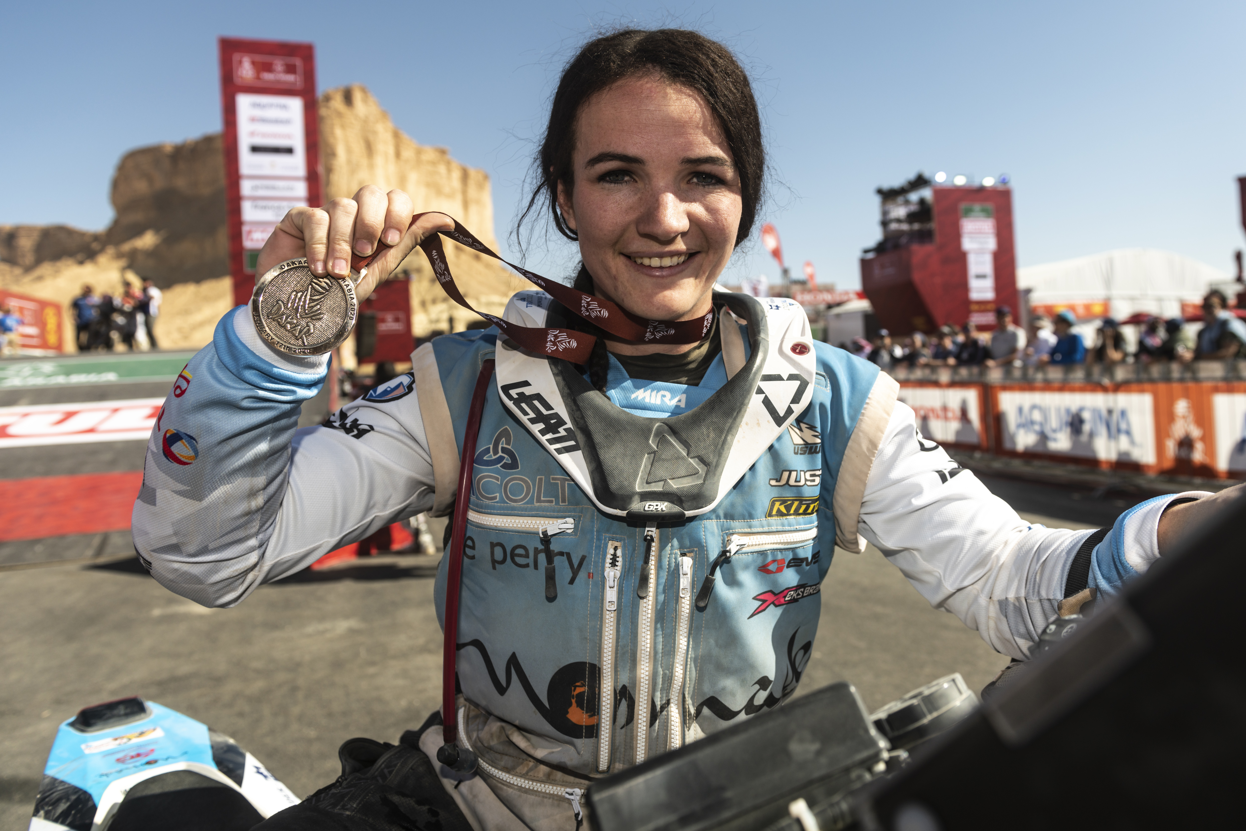 Taye Perry Dakar Medal
