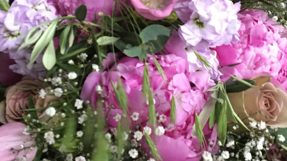 Rundstrauss rosa