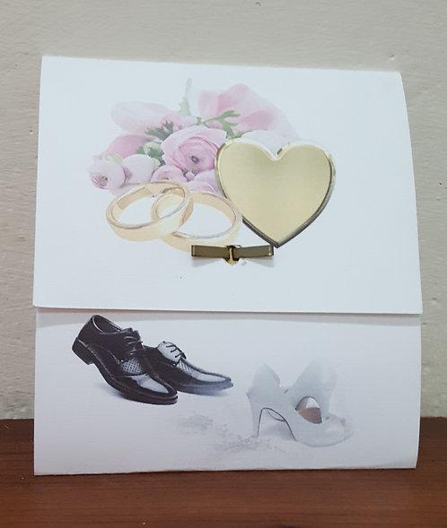 Wedding Invitation - Envelope with Fastener