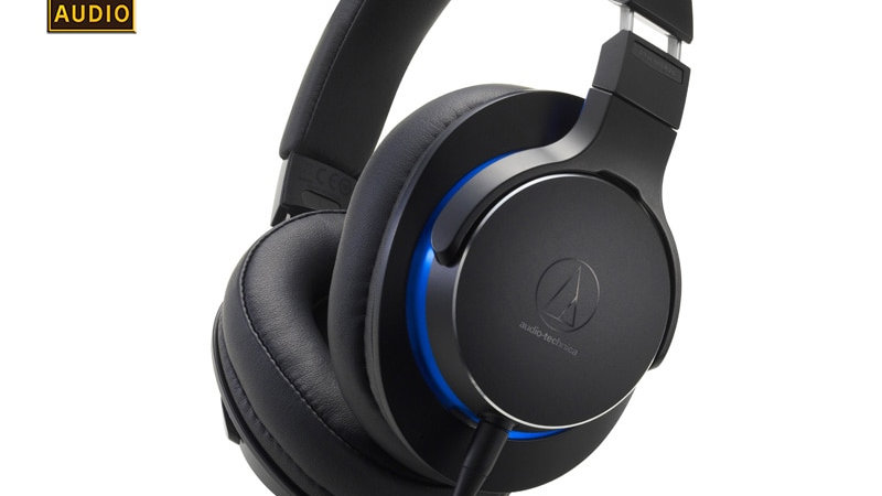 Original Audio-Technica ATH-MSR7b Professional Earphone Over-Ear Headset Hi-Res