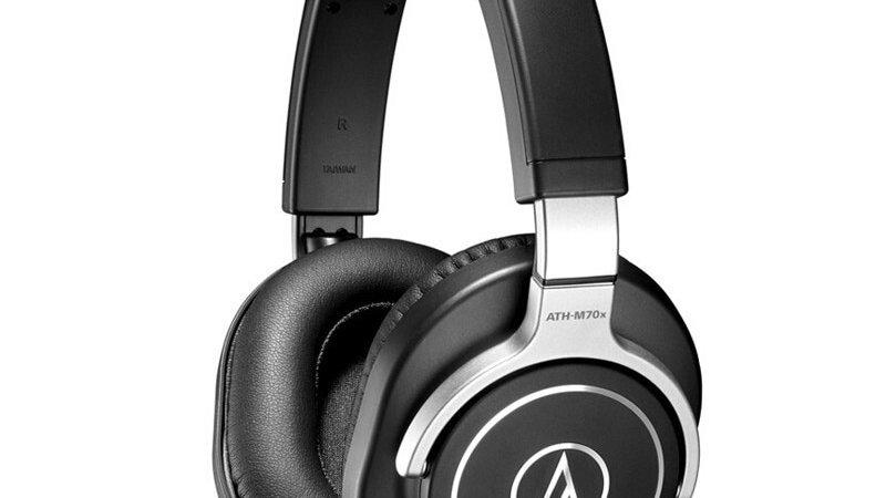 Audio Technica ATH-M70x Wired Earphone Professional Monitor Headphones