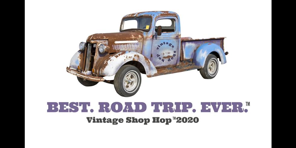 Vintage Shop Hop at New Life Lavender