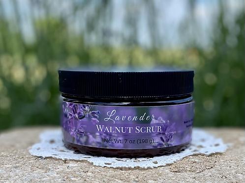 Lavender Walnut Scrub