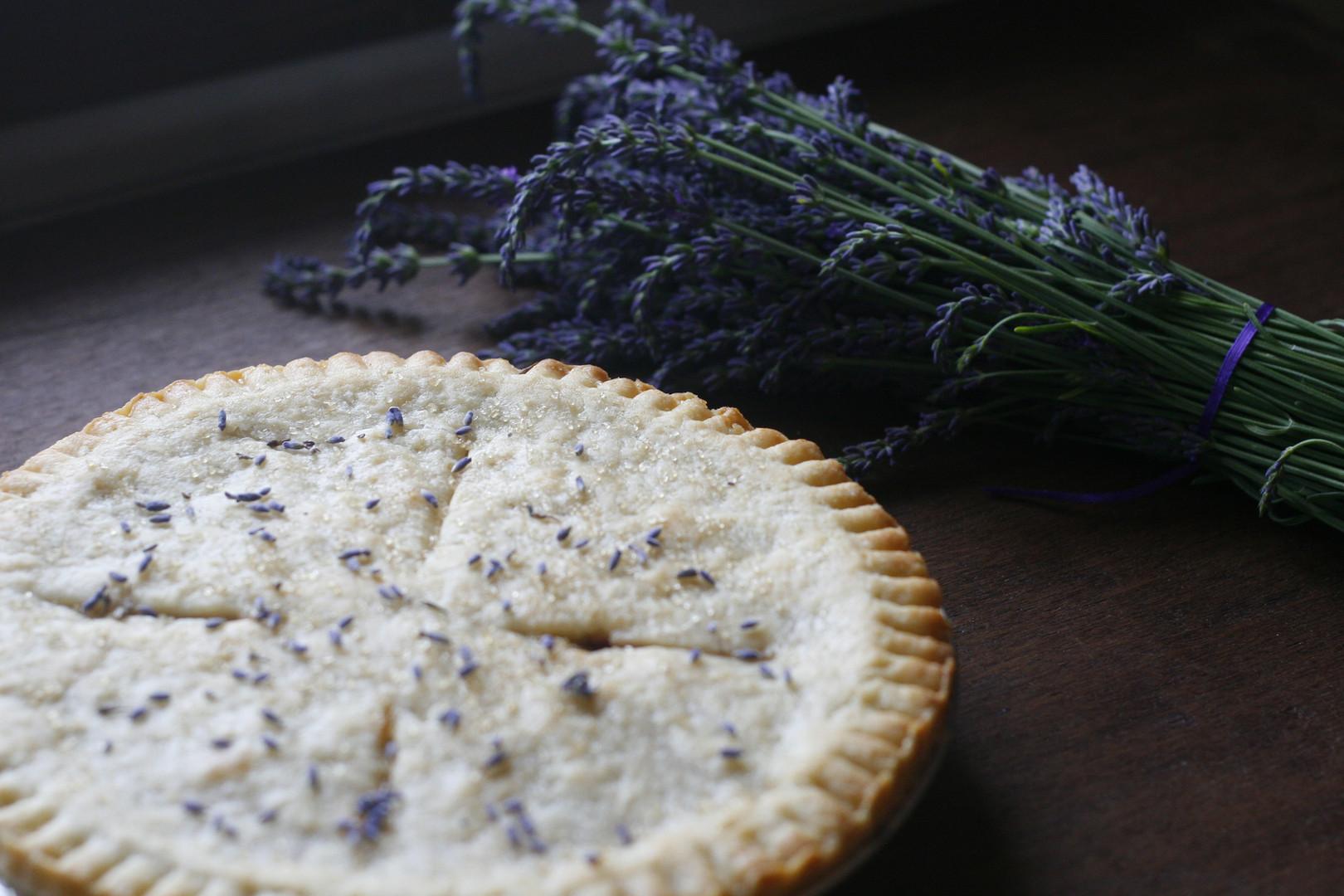 Cherry Lavender Pie