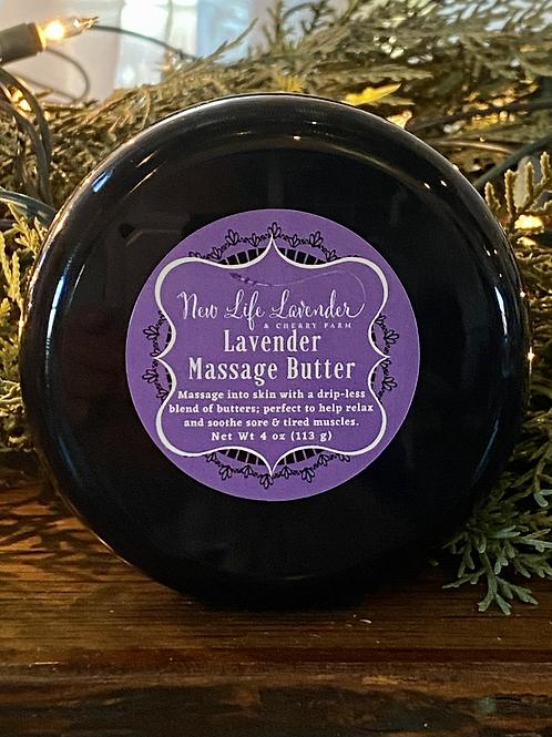 Lavender Massage Butter